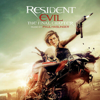 Resident Evil: The Final Chapter CD (2017) ***NEW***
