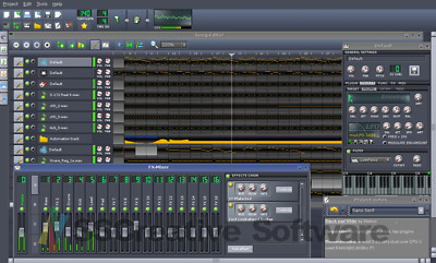 Music Production Studio Multi-Track Editing Recording Mixing Software FL