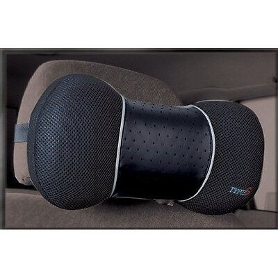 Type S High Quality Car Neck Support Foam Cushion Travel Pillow Black