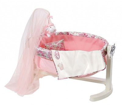 Baby Annabell Rocking Cradle - Accessory for Annabell Doll w/ Night Light