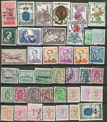 b4.Belgio.Belgium.Stamps collection in condition mint-used