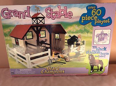 Grand Champions Grand Stable #50290 Factory Sealed Includes Black Stallion 2005