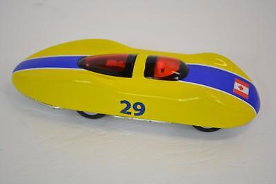Schylling Land Speed Record Friction Powered Tin Car w/ Canadian Flag Canada #29