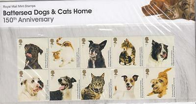 Gb 2010 Battersea Dogs & Cats Home Presentation Pack No 438 Po Fresh