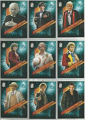 Doctor Who Dr. Who TIMELESS (2016)  DOCTORS ACROSS TIME trading card subset