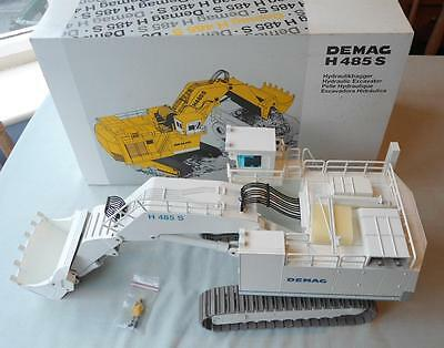 Nzg 1:50 Scale Model Demag H485S Hydraulic Excavator Heavy Diecast Mint Boxed