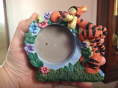 Tigger Resin Frame~Disney Pooh~Butterfly~Flowers~Adorable Valentine's Gift~EXC!