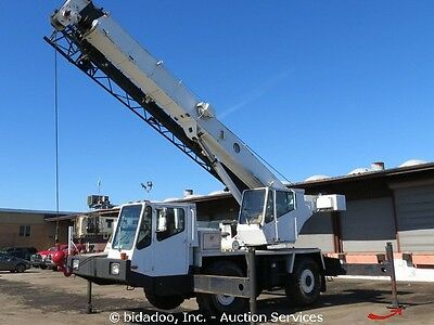 Grove AT-422 22 Ton Hydraulic Rough Terrain Crane 102' Boom w/ Jib 4WS bidadoo