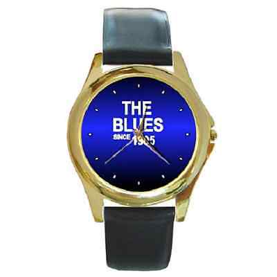 **new* The Blues Since 1905 Chelsea Round Wristwatch **superb Gift Item**