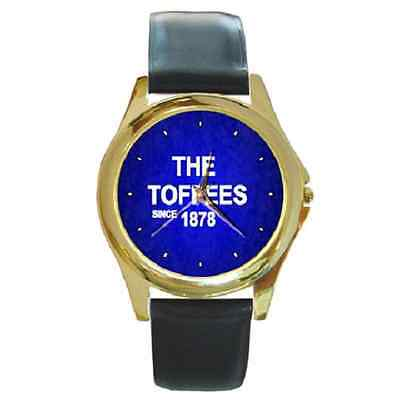 **new* The Toffees Since 1878 Everton Round Wristwatch **lovely Item**