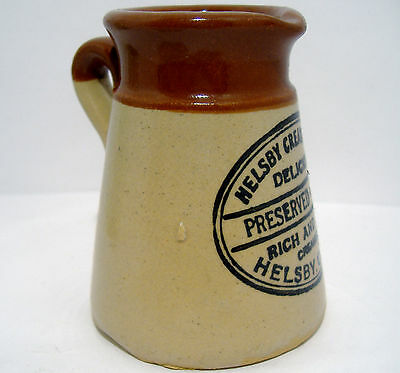 Preserved Cream Jug from Helsby Creamery in Cheshire c1910