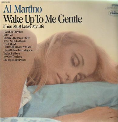 Al Martino Wake Up To Me Gentle NEAR MINT Capitol Vinyl LP