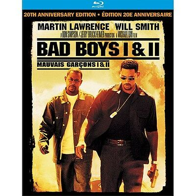 Bad Boys 1 & 2: 20th Anniversary Edition [Blu-ray Set, Region A, 2-Disc] NEW