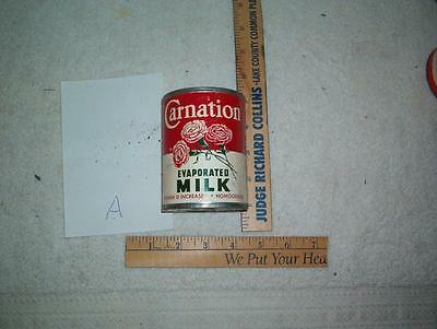 Carnation  Evaporated milk can see write up / 6 pictures w/ flower graphic {picA