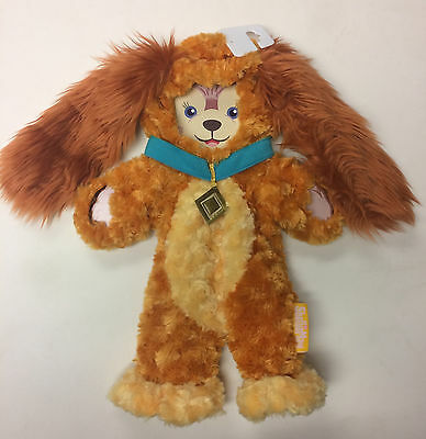 NEW Disney Parks 2017 Lady & Tramp LADY SHELLIE MAY Duffy Bear Costume Outfit