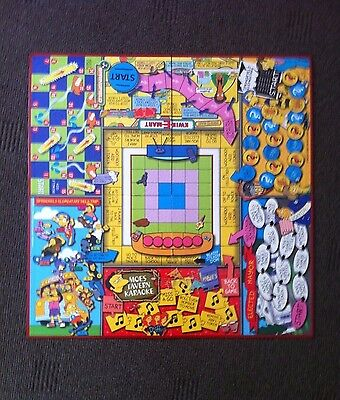 The Simpsons Board Game (2000) - Spare Parts - Game Board