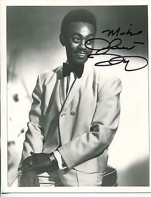 Johnnie Taylor R&b Doo Wop Singer Of Whos Making Love Signed Photo Autograph