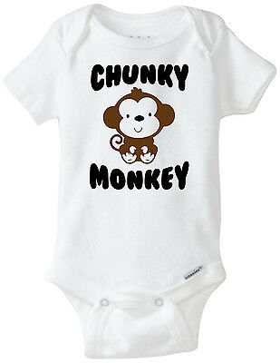 Chunky Monkey - Funny Baby Onesies Infant Newborn Boy Girl Clothes