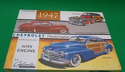 Galaxie Limited 1947 Chevy Fleet Master Aerosedan 1:25 Stock-Custom-Hot Rod