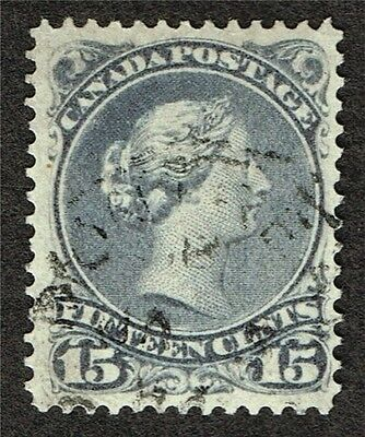 Canada Large Queen 29 Vf    (Fay2