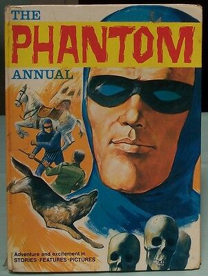 The Phantom Annual  Worn Loved Condition c1968 King Features Printed in Italy