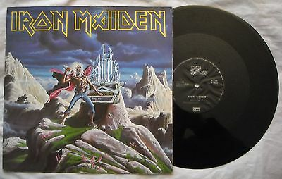 EP - IRON MAIDEN - RUN TO THE HILL - ANNO 1990 - Stampa UK