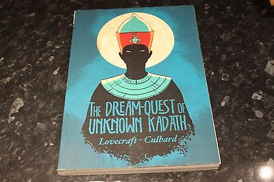 hp lovecraft the dream quest of unknown kadath paperback graphic novel