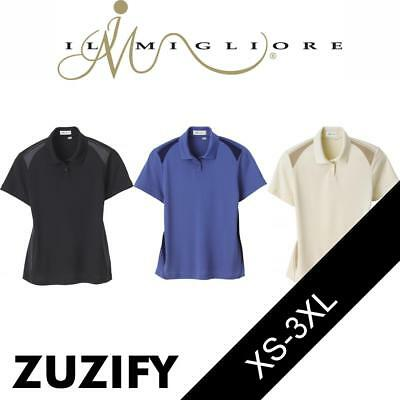 Il Migliore Ladies Honeycomb Polo Shirt. 75054