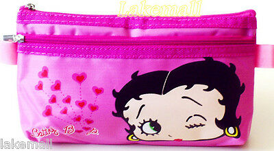 New Betty Boop Cosmetic Pencil Bag
