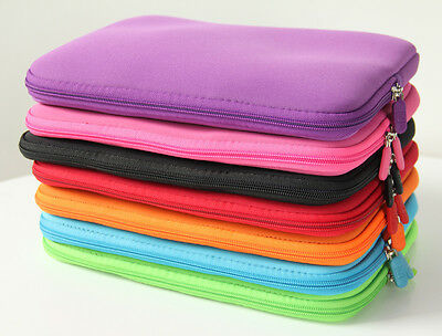 "12"" Laptop Neoprene Sleeve Bag Case Cover For Microsoft Surface Pro 4 12.3 inch"