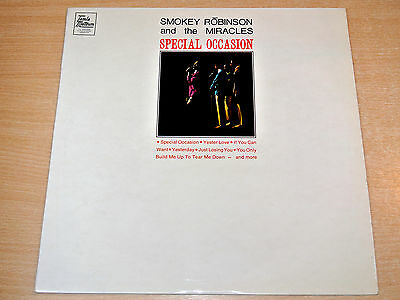 EX/EX !! Smokey Robinson & The Miracles/Special Occasion/1968 Tamla Motown LP