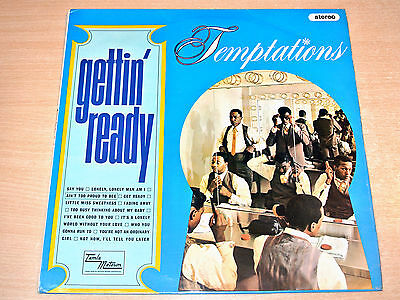 EX-/EX !! The Temptations/Gettin' Ready/1966 Tamla Motown Stereo LP