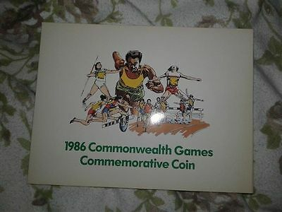 UK 1986 BU £2 COIN in presentation pack Royal Mint / Dairy Crest *MINT*