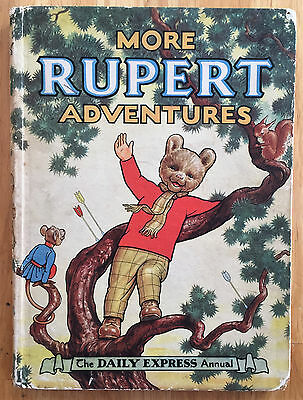 RUPERT ORIGINAL ANNUAL 1952 Erased inscription Not Price Clipped Good/Very Good