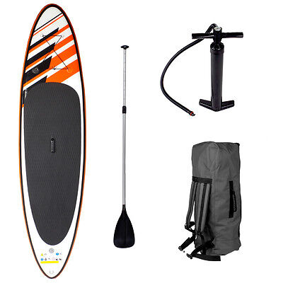 SUP Board Stand Up Paddle Surfboard aufblasbar inkl. Paddel ISUP Paddling 290cm