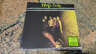 Dead Boys – Young Loud And Snotty ' LP MINT & SEALED 2017 GREEN LIMITED EUROPE
