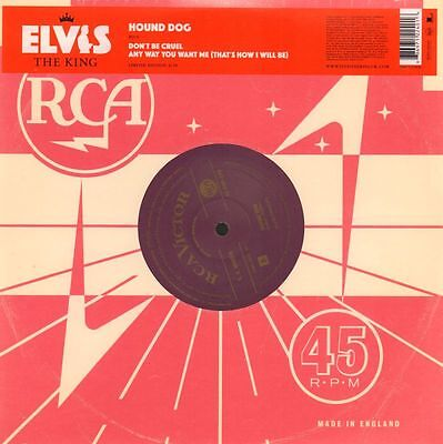 "Elvis Presley(Ltd. Ed 10"" Vinyl)Hound Dog 4/18-RCA-POP 249-EU-2007-M/M"