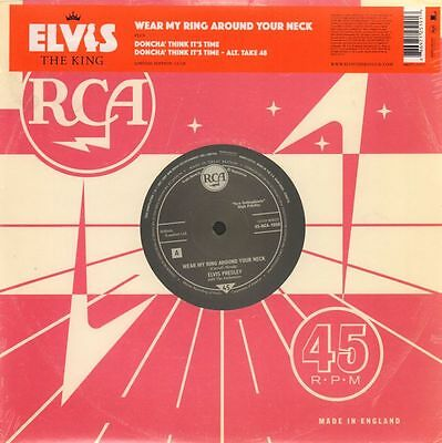 "Elvis Presley(Ltd. Ed 10"" Vinyl)Wear My Ring Around Your Neck 11/18-RCA-M/M"
