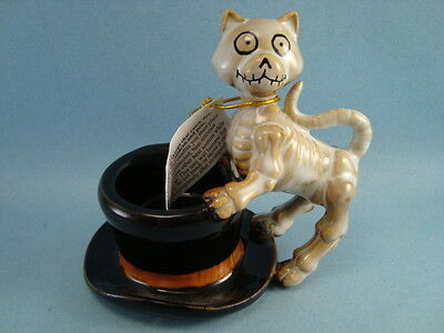 Yankee Candle 2012 Boney Bunch Cat And The Hat Tea Light Halloween Candle Holder