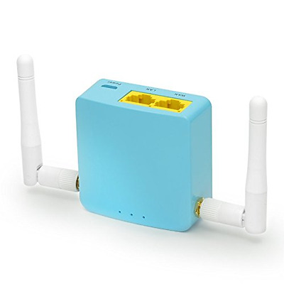 GL-MT300A-Ext, Smart Mini Router - 300Mbps WiFi, OpenWrt pre-installed OpenVPN