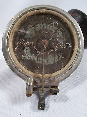 Vintage Sonora Soundbox Phonograph Arm & Reproducer for Parts Repair Gramophone