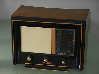 petit poste radio tsf marconi 45 a vers 1948 eur 60 00. Black Bedroom Furniture Sets. Home Design Ideas