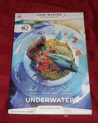 View-Master Virtual Reality Experience Pack: Discovery Underwater BRAND NEW RARE