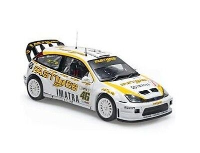 IXO Rally 1/43 Ford Focus #46 VALENTINO ROSSI Rally Monza 2006 WRC diecast