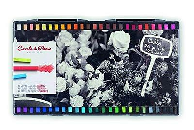 Conte a Paris Colour Carre Crayons -Assorted Colours Pack Of 48