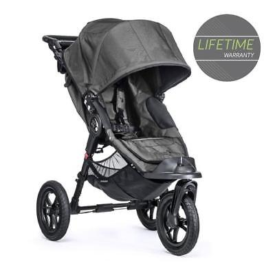 Baby Jogger City Elite (Charcoal Denim) All Terrain 3-Wheel Pushchair Buggy