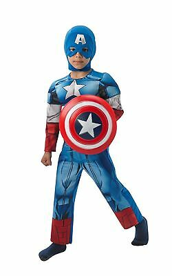 Costume Carnevale Bimbo Captain America The Avengers PS 05066