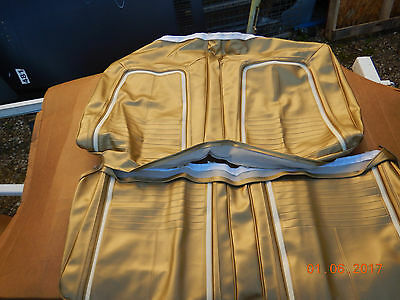 1967 Camaro Rear Seat Covers Gold Convertible Rs Ss Deluxe Convertible 67 396