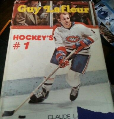 Guy Lafleur: Hockey's No. 1 Hardcover – 1978  Larochelle Montreal Canadiens Book