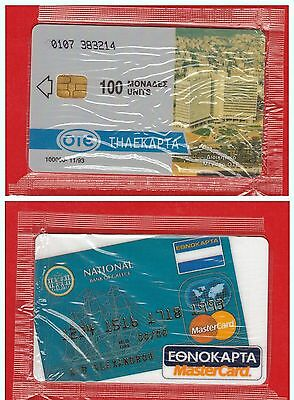"GRIECHENLAND GREECE: X-0017 ""Mastercard"" (11/93) Sealed"